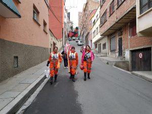 Legionarios marchando